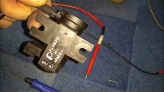 Клапан N-75 или почему не дует турбина.