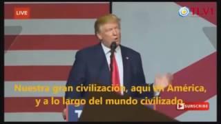 """Discurso """"anti establishment"""" de Donald Trump"""