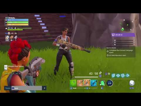 Fortnite save the world LEGIT TRADING!