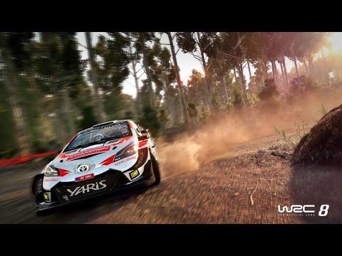 WRC 8 Gameplay :  Citroën : RallyRACC |