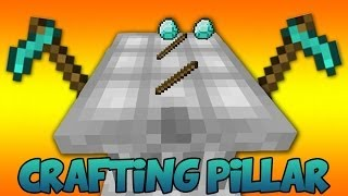 AWESOME NEW WAY TO CRAFT! (Crafting Pillars Mod Showcase)