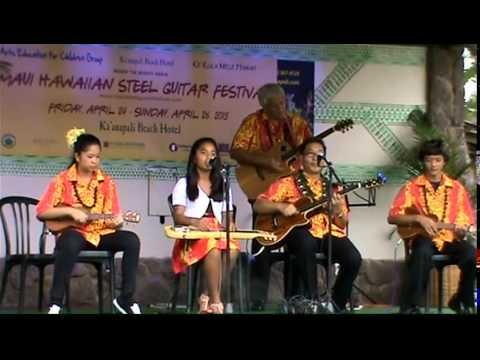 Ke Kula Mele Ensemble featuring Mālie Lyman - Mele Lana