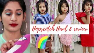 Hopscotch kids wear unboxing & Review - Hopscotch haul
