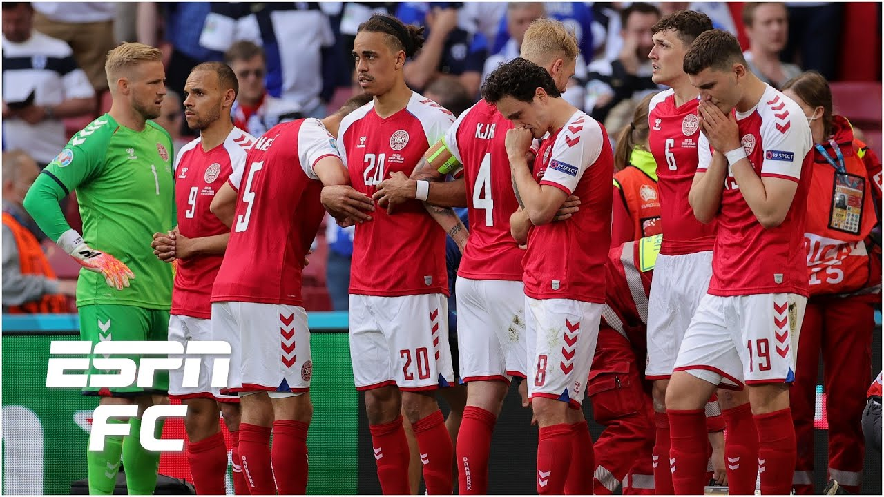Euro 2021: Denmark vs. Finland temporarily suspended after ...
