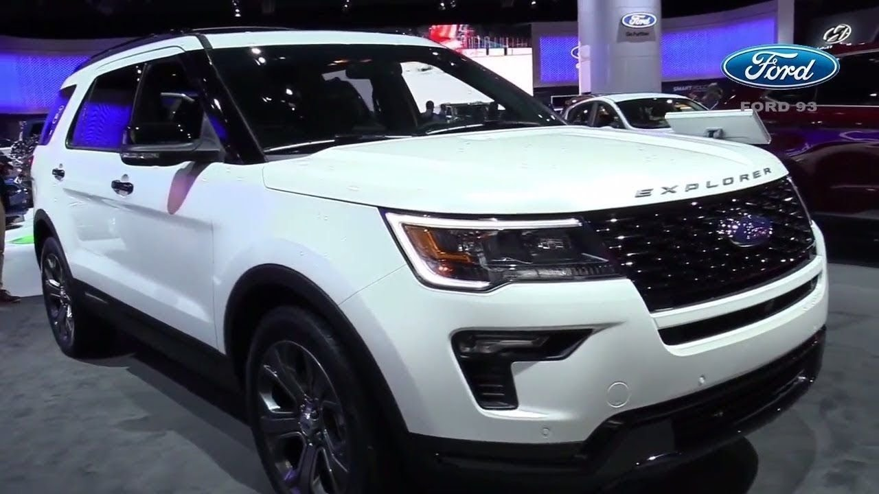 2019 Ford Explorer Changes And Specs of - YouTube