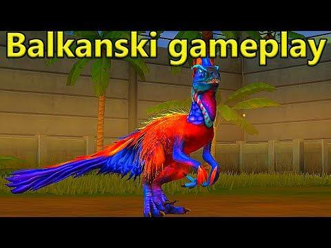 Jurassic World - 40 LEVEL UTAHRAPTOR [Ep.9]