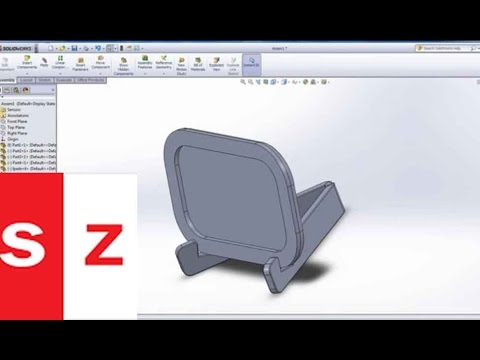 Solidworks Ipad Stand Tutorial