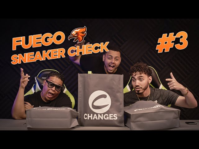 The Funniest Sneaker Chronicles ft. CHRIS STRICK! (Fuego Sneaker Check Ep. 3)
