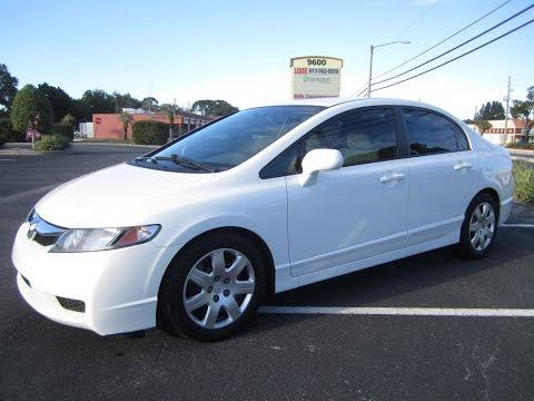 SOLD 2011 Honda Civic LX Sedan 74K Miles Meticulous Motors Inc Florida For Sale
