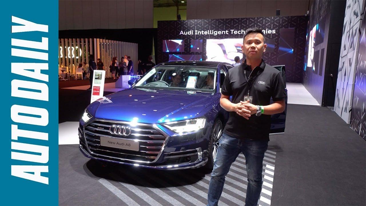Trải nghiệm Audi A8L 2019: Tuyệt tác công nghệ đỉnh cao |AUTODAILY.VN|
