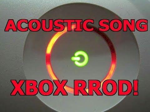 XBOX RROD SONG!!!