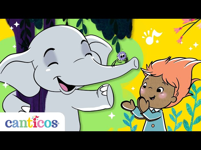 Canticos   15 Mins of Benji the Elephant's Favorite Songs!   Bilingual Nursery Rhymes