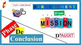 TOP'ETUDES   AUDIT INTERNE V7   Mission d'Audit :