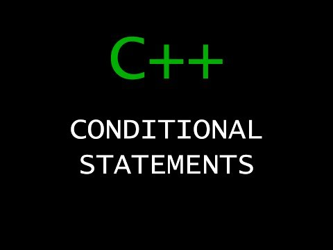 C++ Programming Tutorial 22 - Conditional Statements