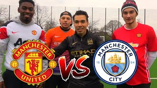 MANCHESTER UNITED (POGBA) vs MANCHESTER CITY (SANÉ) CHALLENGE | BROTATOS
