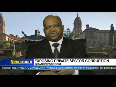 Newsroom: Private sector corruption in South Africa