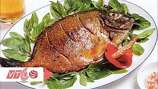 Ngon, giòn cá chim biển nướng muối ớt | VTC