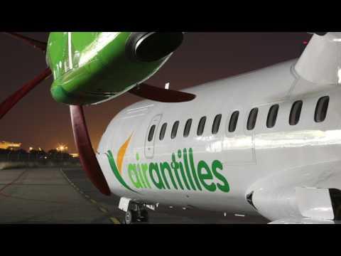 Air Antilles   Nouvel ATR 72 600