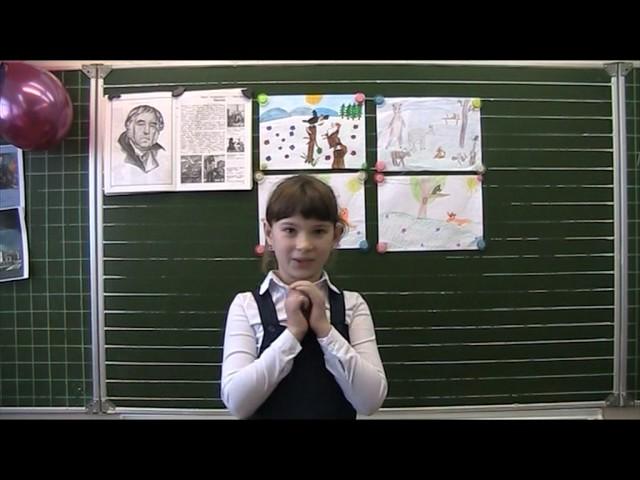 Изображение предпросмотра прочтения – ВероникаДушина читает произведение «Ворона и Лисица» И.А.Крылова
