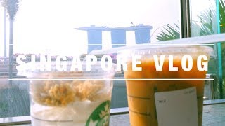 Singapore travel Vlog - Marina Bay Sands & Gardens By the Bay