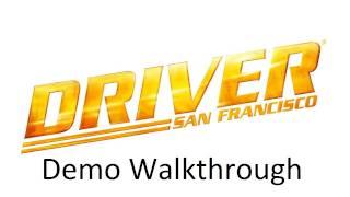 Driver: San Francisco - Walkthrough (PS3/XBOX 360/PC) [Demo]