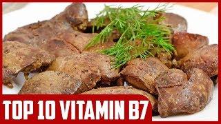 Top 10 Natural Sources of Vitamin B7 (Biotin)