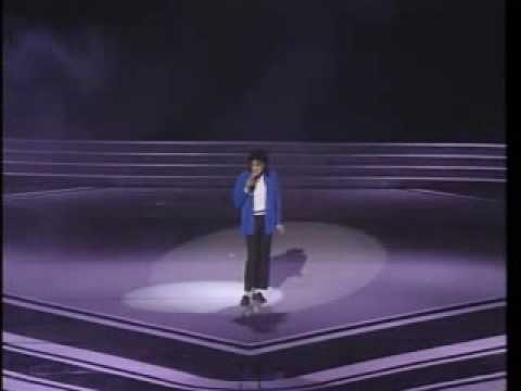 michael jackson live'89 grammys man in the mirror