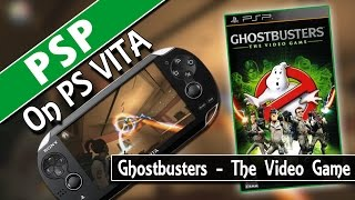 PSP On PS VITA: Ghostbusters - The Video Game (Classic Gaming On PSVita)(Ghostbusters - The Video Game (PSP version) running on the PS Vita. Join the Ghostbusters team as a new recruit in an all-new adventure to save NYC from its ..., 2014-09-27T13:28:33.000Z)