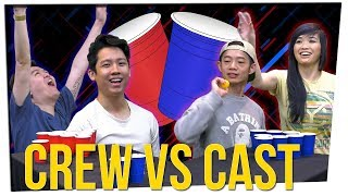 You Owe Me Lunch! | PONG: Cast VS Crew