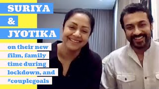 Suriya & Jyotika interview with Rajeev Masand | Ponmagal Vandhal