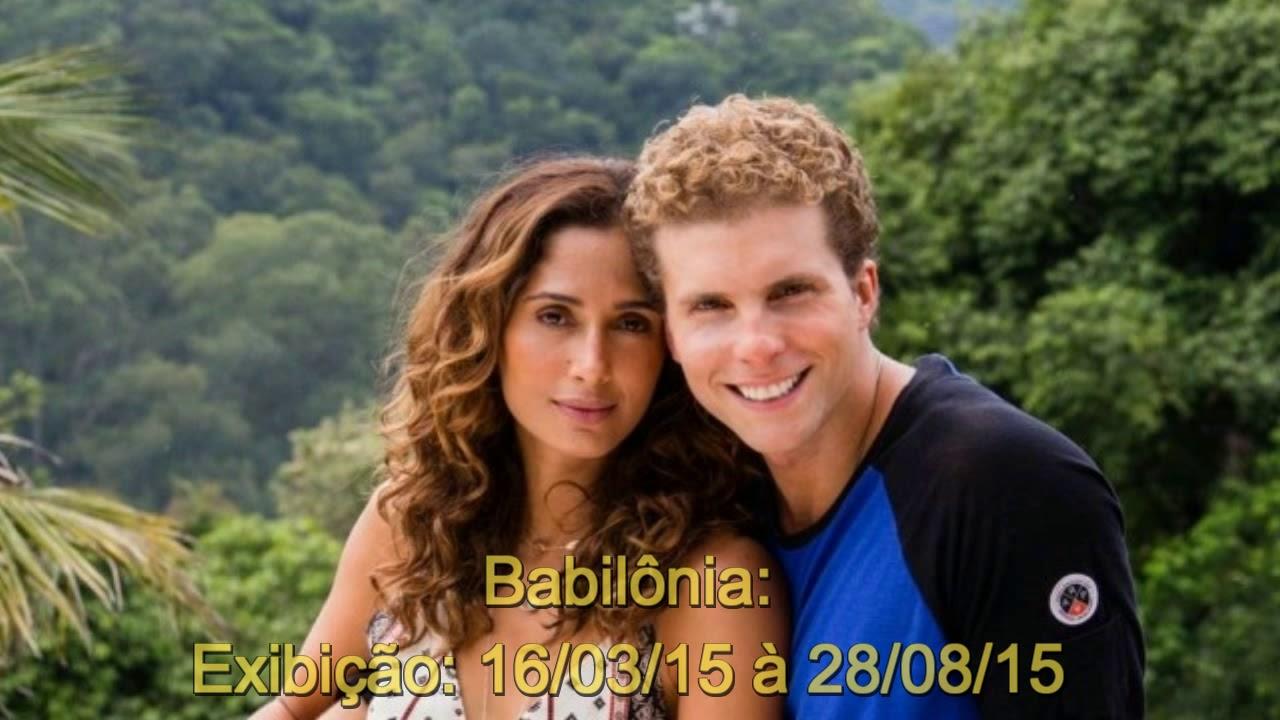 Novelas Das 9 Da Globo De 2011 Até 2017 Youtube