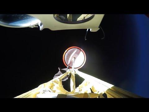 La NASA prepara un paracaídas supersónico para sus misiones a Marte