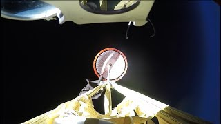 NASA's Mars 2020 Supersonic Parachute: Test Flight #1