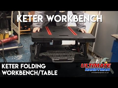 Keter folding workbench/table