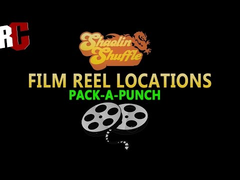 Film Reel Locations in Shaolin Shuffle Zombies How to find PackAPunch Movie Reels