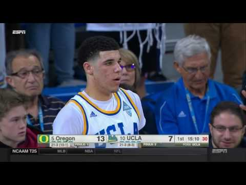 No. 9 UCLA vs No. 6 Oregon Feb 9 2017