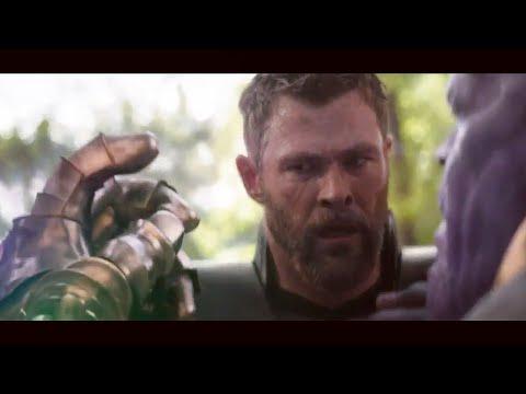 Avengers: Infinity War - Thor VS Thanos + Snap Scene | End Battle HD