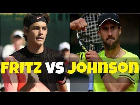 Taylor Fritz vs Steve Johnson | SF Houston 2018 Highlights HD