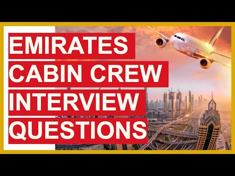 EMIRATES CABIN CREW Interview Questions And Answers! (How To PASS Emirates Final INTERVIEW!)