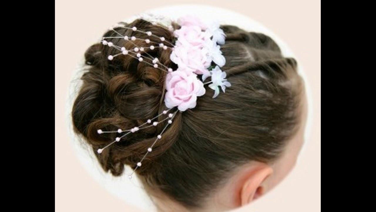 Blumenmadchen Hochzeit Frisuren Neue Aktuelle Trendfrisuren Youtube