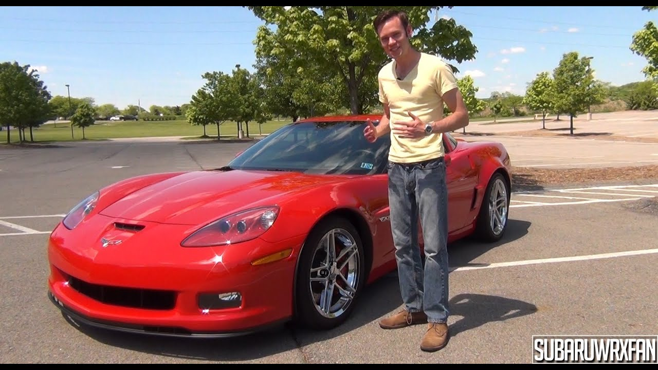 review 2008 corvette z06 youtube. Black Bedroom Furniture Sets. Home Design Ideas