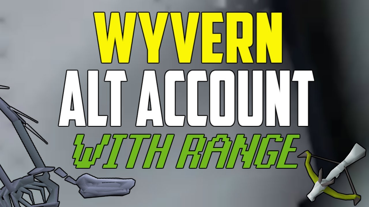 OSRS - How Much Money Does A Wyvern RANGE Alt Make? (3 Hours)