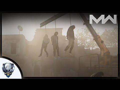 """Call of Duty Modern Warfare - Companion Block - Mission 3 """"Embedded"""" Walkthrough w/ Cinder Block"""