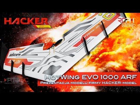 HOTWING EVO 1000 ARF HACKER MODEL