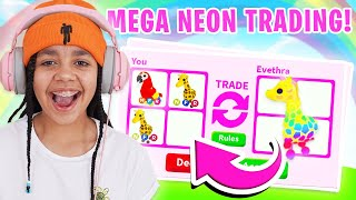 Trading For MEGA NEON DREAM PETS Only! Adopt Me Roblox
