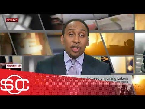 Stephen A: Lakers might be shifting focus from Kawhi Leonard to Damian Lillard | SportsCenter | ESPN