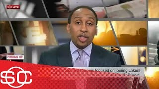 Stephen A: Lakers might be shifting focus from Kawhi Leonard to Damian Lillard | SportsCenter | ESPN