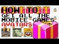 Nitrome - How to get all the mobile games avatars