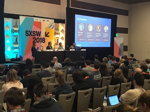 Dr. Louis Rosenberg discussing HIVE MINDS at SXSW (2018)