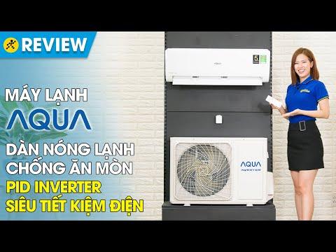 Máy lạnh Aqua Inverter 1.5 HP: tiết kiệm điện, độ bền tốt (AQA-KCRV12WNZ) • Điện máy XANH